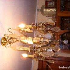 Antigüedades: LAMPARA BRONCE. Lote 86478320