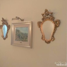 Antigüedades - Espejos Cornucopias pan de oro - 86479024