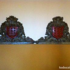 Antigüedades: BLASONES APELLIDO SALAZAR SIGLO XVIII. Lote 86512880