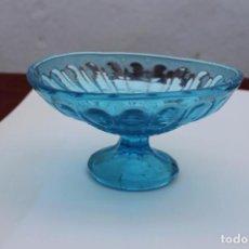 Antigüedades: ANTIGUO DE FRUTERO AZUL DE SANTA LUCIA, CARTAGENA, CRISTAL PRENSADO. Lote 86514220