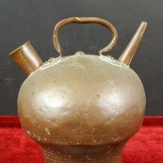 Antigüedades: BOTIJO DE COBRE. AMARTILLADO A MANO. SIGLO XIX.. Lote 86523100