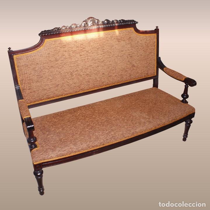 Conjunto de muebles antiguos comprar sof s antiguos en - Comprar muebles antiguos ...