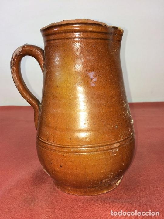 Antigüedades: JARRA. CERÁMICA ESMALTADA. CATALUNYA. ESPAÑA. SIGLO XIX - Foto 3 - 86560020