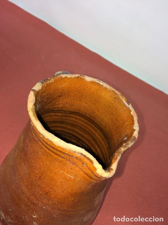 Antigüedades: JARRA. CERÁMICA ESMALTADA. CATALUNYA. ESPAÑA. SIGLO XIX - Foto 5 - 86560020