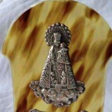 Antigüedades: PLATA DE LEY,NUESTRA SEÑORA DE LOS DESAMPARADOS,EN PLATA CONTRASTADA. Lote 86574596