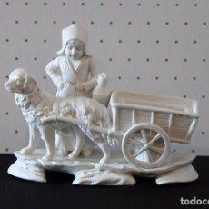 Antigüedades: FIGURA DE PORCELANA BISCUIT. Lote 86575232