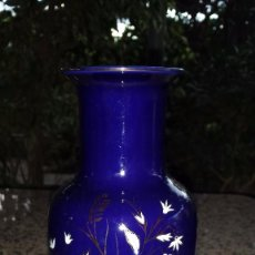 Antigüedades: ANTIGUO JARRON PORCELANA, SELLADO SANBO. Lote 86607376