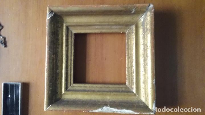 antiguo marco madera pan de oro fino , ver fot - Comprar Marcos ...