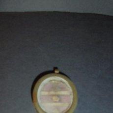 Antigüedades: ANTIGUO RELICARIO S. XIX EN EL INTERIOR S. VINCENTU . M. 4,5X3,3 CM. . Lote 86615680