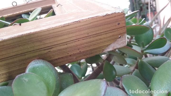 Antigüedades: precioso antiguo marco madera doradAa 27 x 25 x 3,5 CM , - Foto 8 - 86630804
