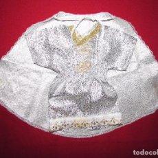 Antigüedades: TRAJE NIÑO JESUS - CONJUNTO PARA SANTO - MUY BONITO. Lote 86637716