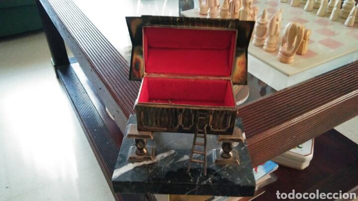 Antigüedades: Joyero plata de ley pazo gallego - Foto 2 - 86655422