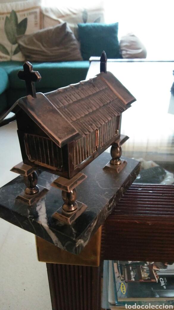 Antigüedades: Joyero plata de ley pazo gallego - Foto 4 - 86655422
