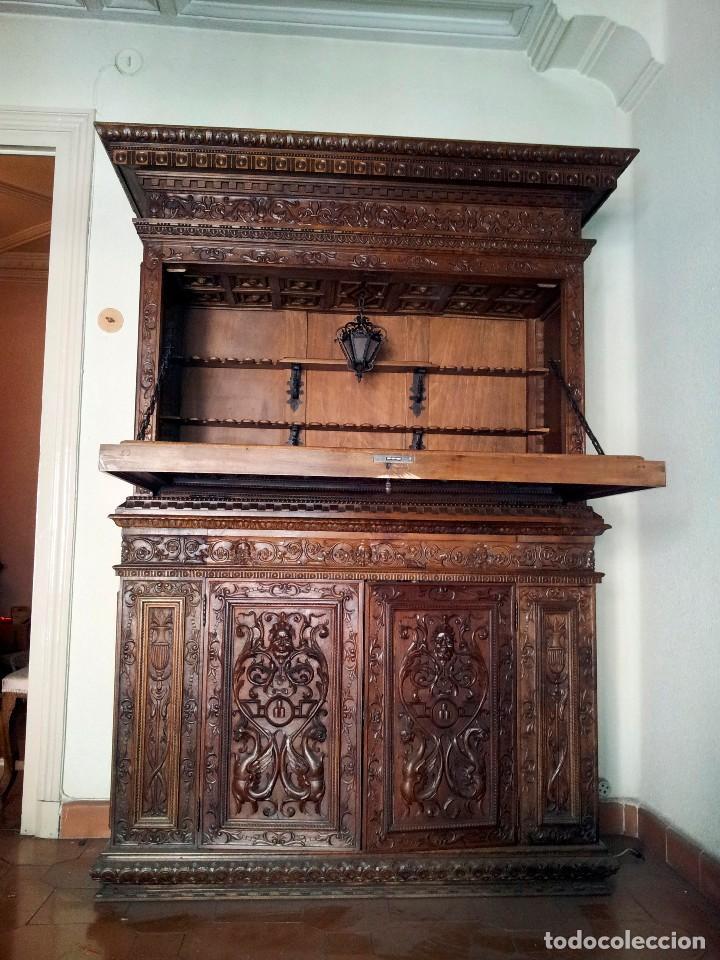 Mueble bar tallado principios del siglo xx comprar - Muebles siglo xxi ...