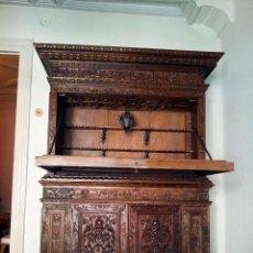 Antigüedades: MUEBLE BAR TALLADO. PRINCIPIOS DEL SIGLO XX. Lote 86673176