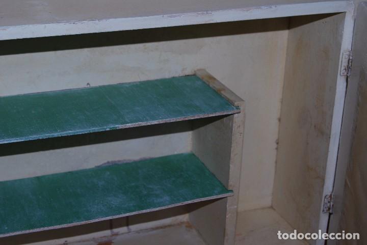 Antigüedades: PEQUEÑO ARMARIO DE MADERA CON ESPEJO - BOTIQUÍN - AÑOS 30 - Foto 10 - 86680056