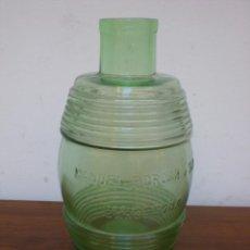 Antiquités: BOTELLON DE CRISTAL, MAUEL PORCAR Y TIÓ. BARCELONA. S.XIX. Lote 86699308