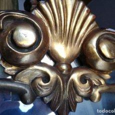 Antigüedades: ESPEJO EN TALLA DE MADERA AÑOS 50. Lote 86707572