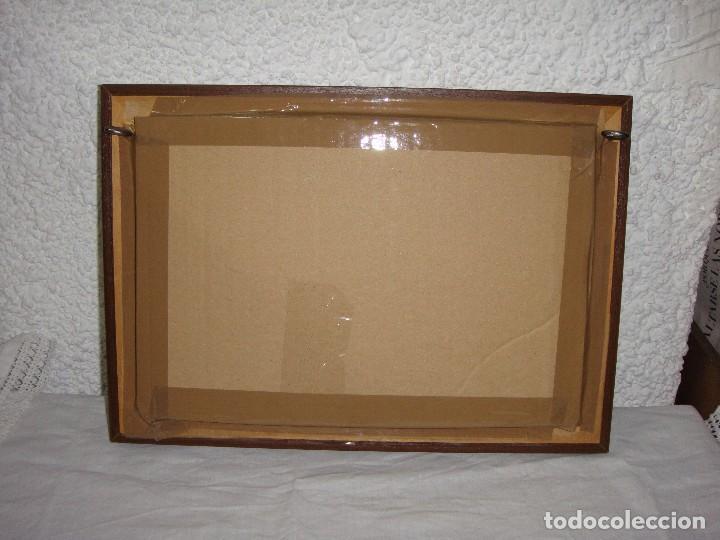 Antigüedades: Expositor Vitrina de Pared. Ideal para Exponer Colecciones. Marco con baño de Plata. - Foto 3 - 86718064