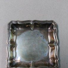 Antigüedades: BANDEJA DE METAL PLATEADO. Lote 86719212
