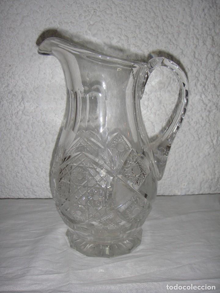 JARRA DE CRISTAL TALLADO DE BACARAT. (Antigüedades - Cristal y Vidrio - Baccarat )