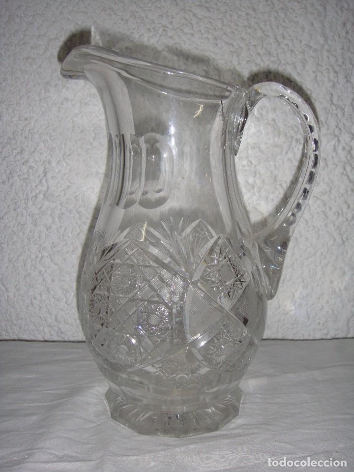 Antigüedades: Jarra de Cristal tallado de Bacarat. - Foto 2 - 86738804