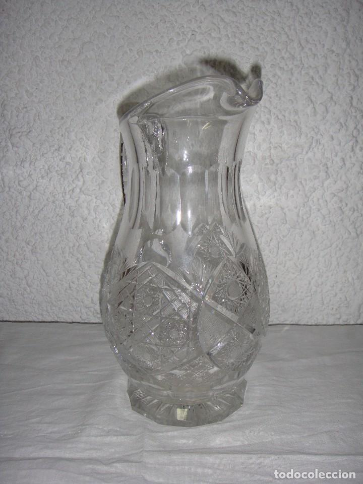 Antigüedades: Jarra de Cristal tallado de Bacarat. - Foto 4 - 86738804