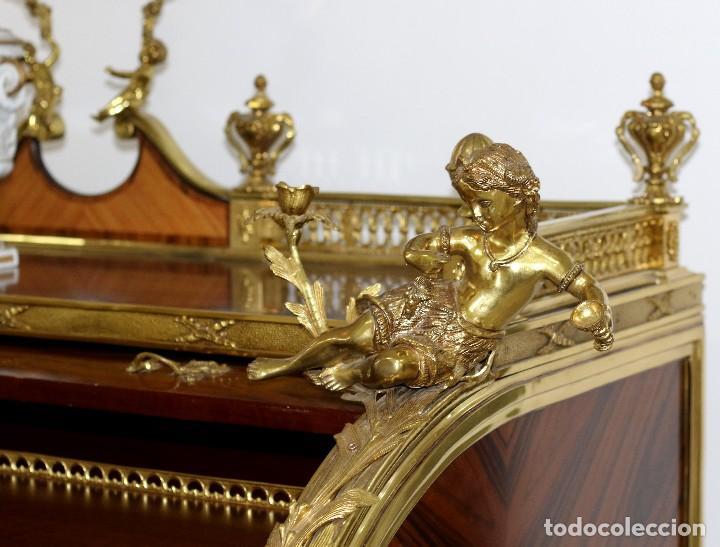 Antigüedades: Escritorio Bureau estilo Luis XV - Foto 8 - 88319640