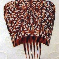 Antigüedades: PEINETAS ANTIGUAS CAREY. Lote 86761404