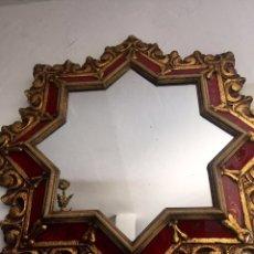Antigüedades: ESPEJO ANTIGUO EN FORMA DE ESTRELLA. Lote 86270712