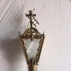 Antigüedades: FAROL PROCESIONAL DE COFRADÍA. Lote 86271880