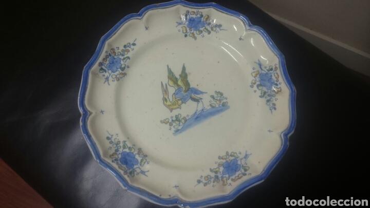 SALVILLA DE ALCORA S XIX O PP XX. OF (Antigüedades - Porcelanas y Cerámicas - Alcora)