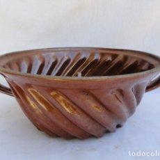 Antigüedades: ANTIGUO MOLDE PASTELERO FRANCÉS DE CERÁMICA. . Lote 86845328