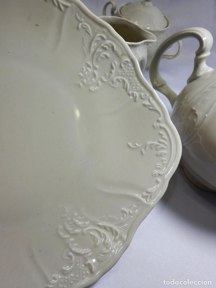 Antigüedades: Gran servicio de té en una de las mejores porcelanas de Bohemia. Bernadotte. Mediados s XX. - Foto 23 - 86846332