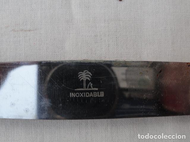 Antigüedades: LOTE DE 6 CUCHILLOS INOXIDABLES CON CAJA. - Foto 4 - 86862800
