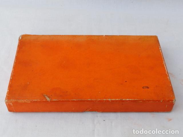 Antigüedades: LOTE DE 6 CUCHILLOS INOXIDABLES CON CAJA. - Foto 6 - 86862800
