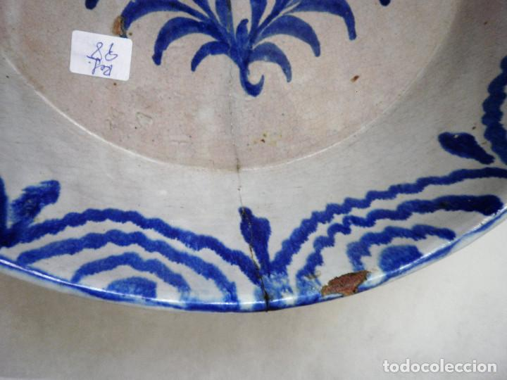 FUENTE DE CERÁMICA ANDALUZA. FAJALAUZA. (Antigüedades - Porcelanas y Cerámicas - Fajalauza)