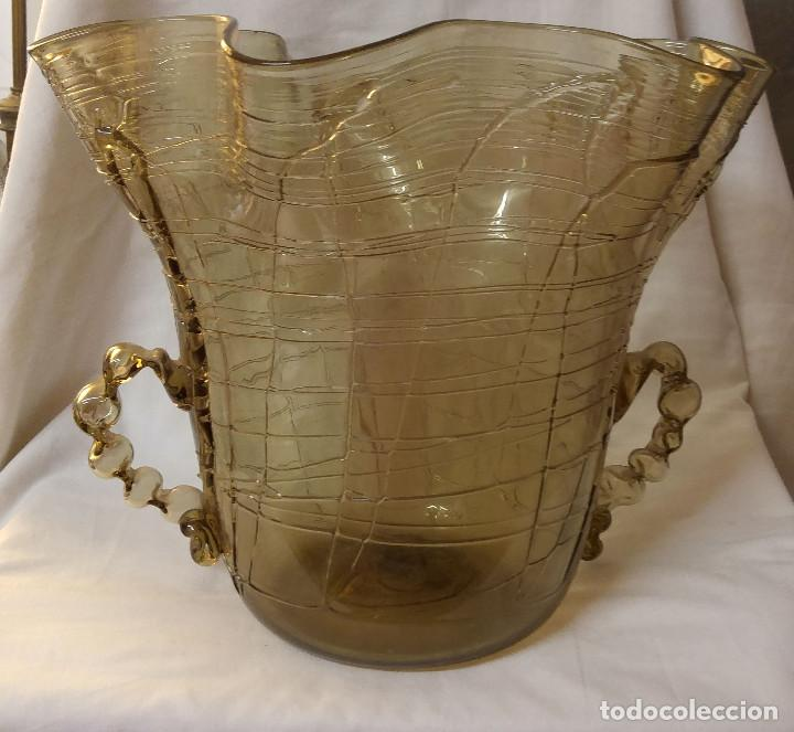 Antigüedades: JARRON GRANDE ANTIGUO DE LA CASA GORDIOLA, UNA PRECIOSIDAD - Foto 2 - 86911012