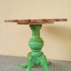 Antigüedades: MESA VELADOR RESTAURADA ARTESANALMENTE.. Lote 86918716