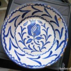 Antigüedades: FUENTE DE CERÁMICA.. Lote 86955752
