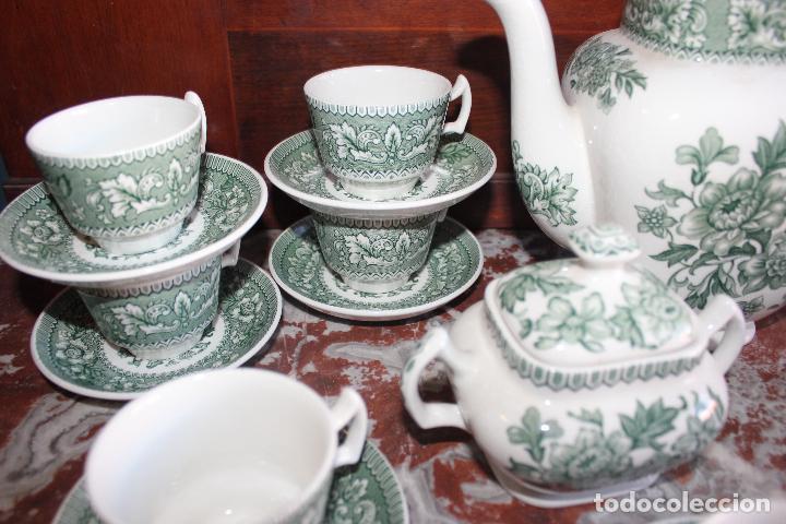 Antigüedades: PRECIOSO JUEGO DE CAFÉ DE 12 SERVICIOS EN PORCELANA INGLESA WESTMINSTER. IMPECABLE. VER FOTOS - Foto 7 - 86959336