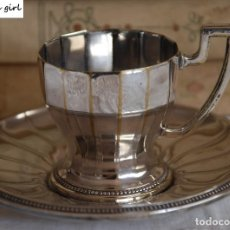 Antigüedades: ANTIGUA TAZA WMF CON PLATO 1910-1918. Lote 63537088