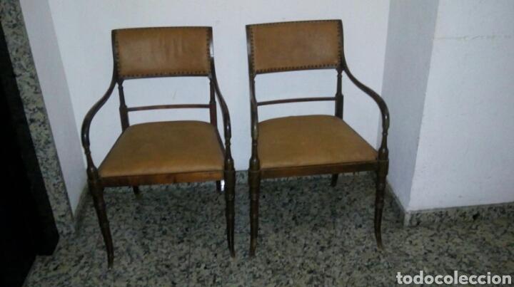 BUTACAS SILLONES SILLAS DESPACHO MÉDICO FARMACIA (Antigüedades - Muebles Antiguos - Sillones Antiguos)