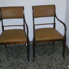 Antigüedades: BUTACAS SILLONES SILLAS DESPACHO MÉDICO FARMACIA. Lote 86991212