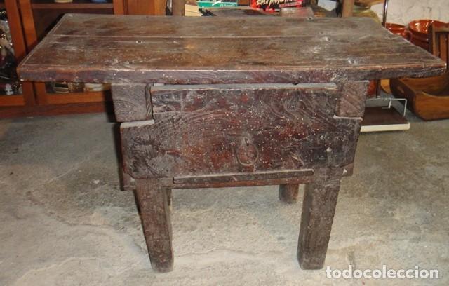 Magn fica mesa tocinera del siglo xviii compar comprar - Muebles siglo xviii ...