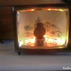 Antigüedades: VIRGEN DE LA CABEZA ANDUJAR JAEN ANTIGUO TV.ILUMINADO VER FOTOS Y DESCRIPCION. Lote 87057676