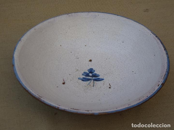 PLATO ANTIGUO EN CERAMICA DE TALAVERA / TOLEDO. (Antigüedades - Porcelanas y Cerámicas - Talavera)