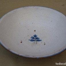 Antigüedades: PLATO ANTIGUO EN CERAMICA DE TALAVERA / TOLEDO.. Lote 87087028