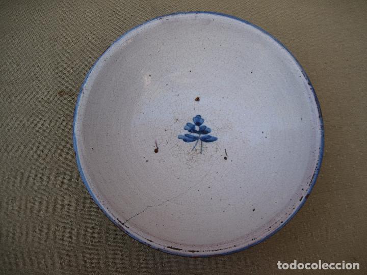 Antigüedades: PLATO ANTIGUO EN CERAMICA DE TALAVERA / TOLEDO. - Foto 2 - 87087028