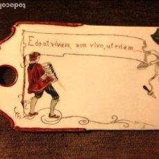 Antigüedades: TABLA PARA QUESOS DE PORCENA. FFS S XIX. Lote 87096440